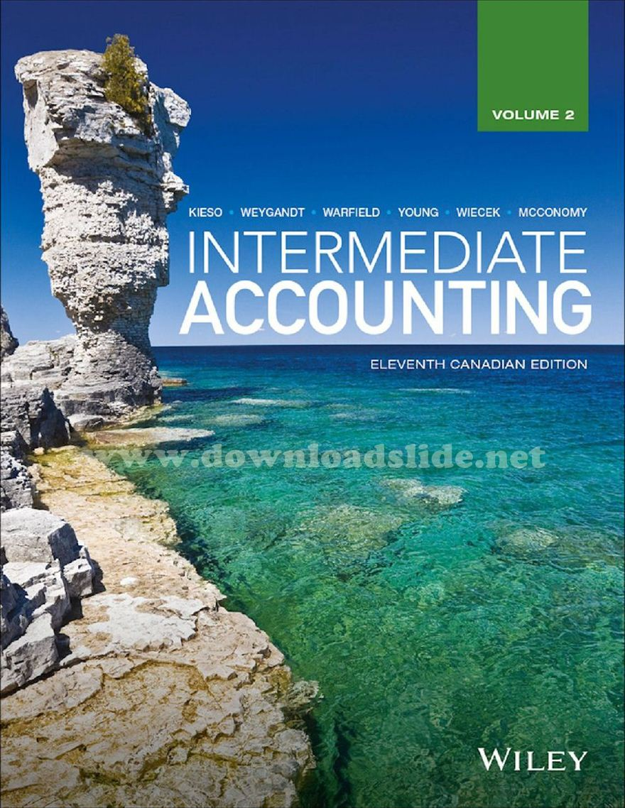 Ebook Intermediate Accounting 11th .
