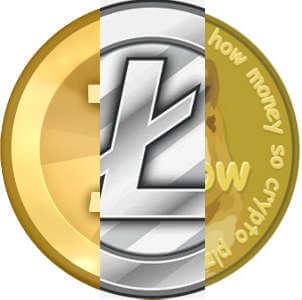 criptomonedas bitcoin litecoin dogecoin
