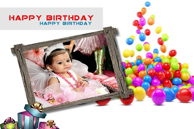 Baby Birthday Album Design