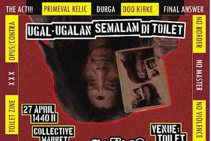 Gaung live at Ugal Ugalan Semalam di Toilet