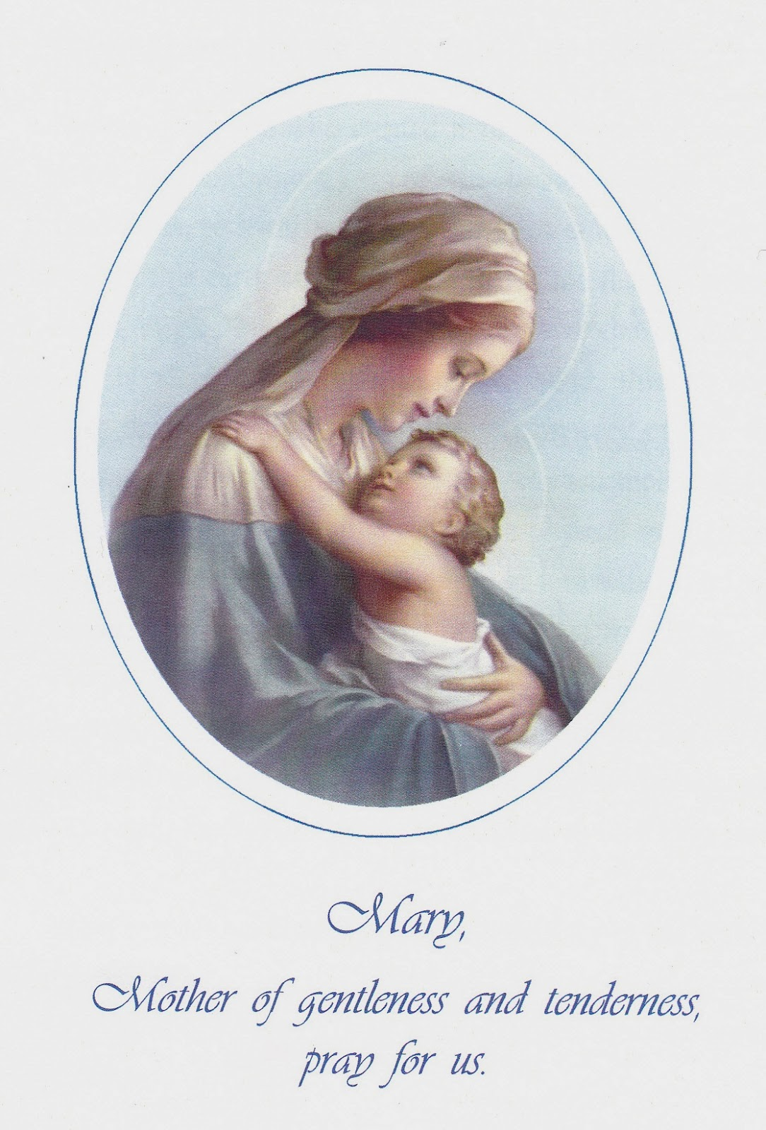 mystics of the church consecration of a new baby to jesus and mary