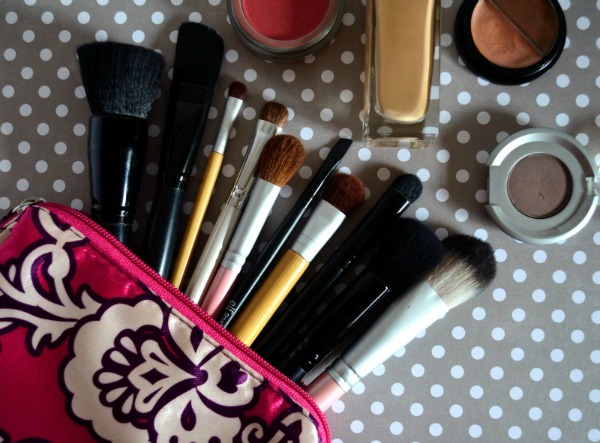 kit basico brochas de maquillaje para empezar