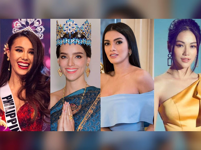 Miss Universe, Miss World, Miss Earth, and Miss Grand International Fulfilling Their Duties