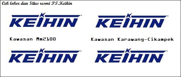 Situs Resmi PT Keihin Indonesia Lulusan SMA/SMK Bagian Operator produksi 2018