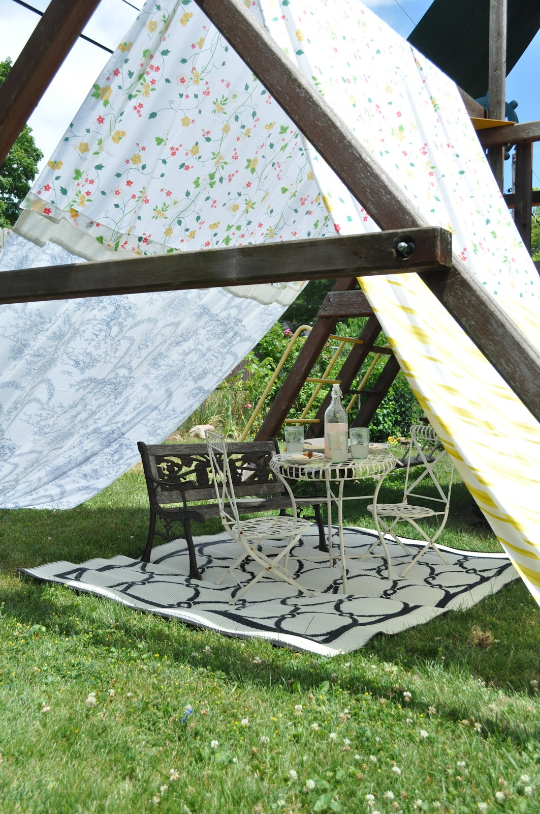 A Swing Set Tent Jennifer Rizzo