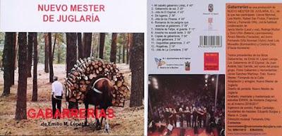 """nuevo Mester de Juglaría presentará el 4 de Marzo en El Espinar el disco """"GABARRERÍAS"""""""