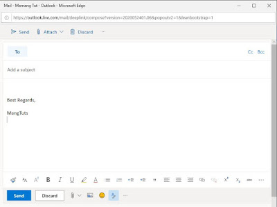 Tanda tangan webmail