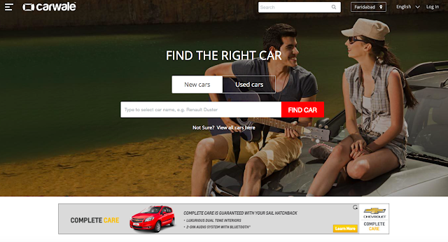 CarWale Announces Re-Design of Website