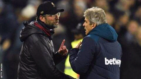 "Pellegrini:""Klopp is Used To Winning with Offside Goals"""
