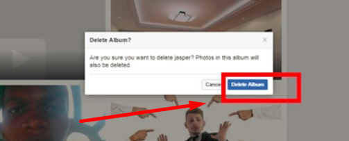 How To Delete A Photo Album From Facebook