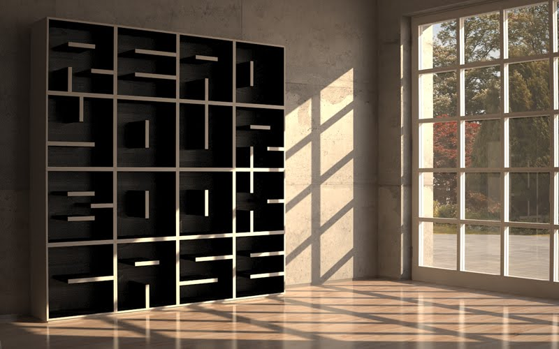 The Abc Bookcase (Libreria Abc) Is A Fun And Functional Series Of