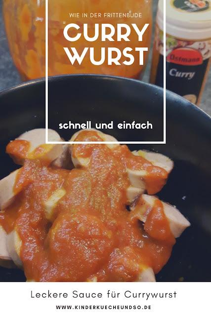 Rezept für Currywurst-Sauce wie in der Frittenbude