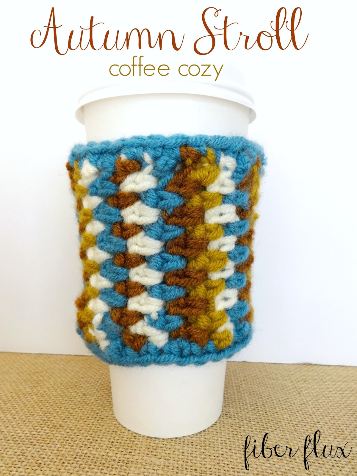 Coffee Cozy Pattern Awesome Design