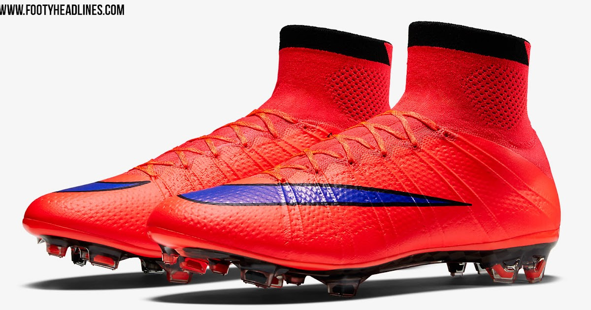 huge selection of e3124 82c05 ... 4 CR7 Quinhentos Red Nike Mercurial Superfly Intense Heat Pack 2015  Boots Released - Footy Headlines ...