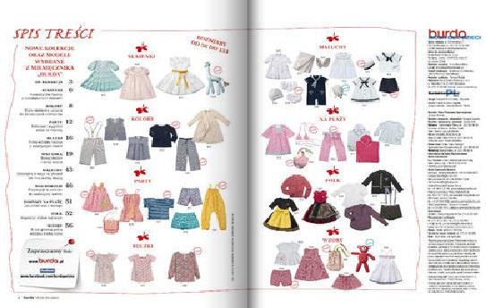 Modele ubrań z Burda. Moda na szycie 1/2014