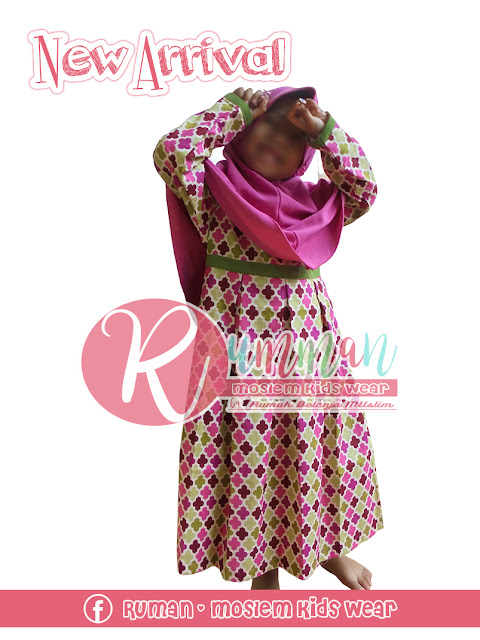 Model Gamis Anak Perempuan Plus Jilbab