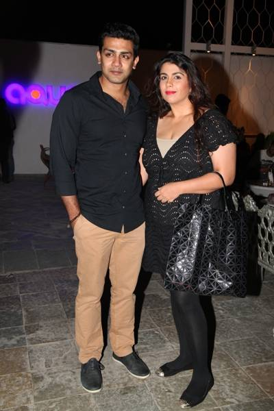 Raghu Mukherjee with his wife Bhavana
