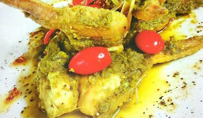 Resepi Kepak Ayam Masak Sambal Hijau