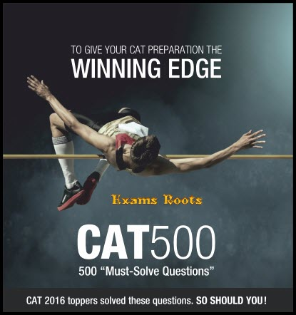 IMS CAT 500 (2017) - Exam Roots