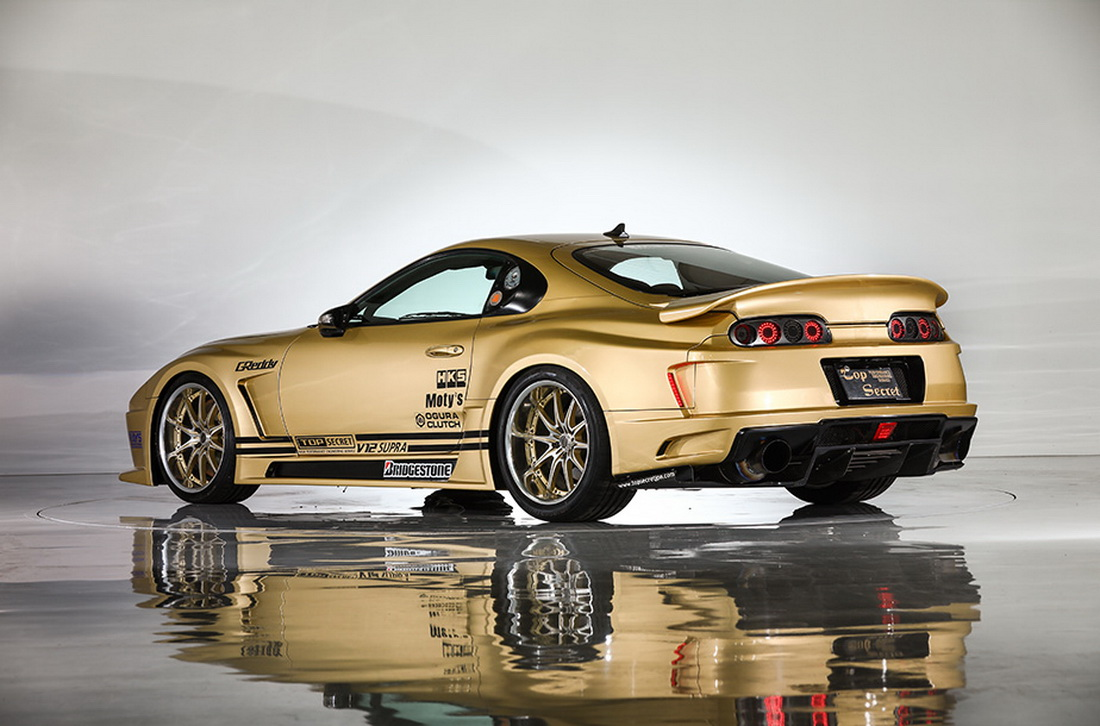 Top Secret S 943ps Toyota Supra V12 Is Looking For A New Home