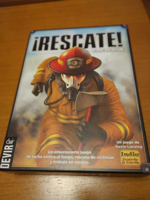 Review de ¡Rescate! - Fire Rescue - de Devir
