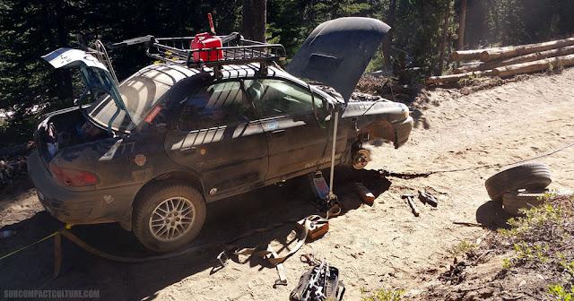 Subaru Imperza broken