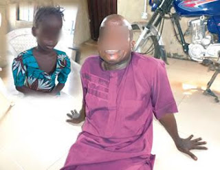 Oyo State: 62-year-old Pastor Rapes 7-year-old Pastor's Daughter on Church Altar