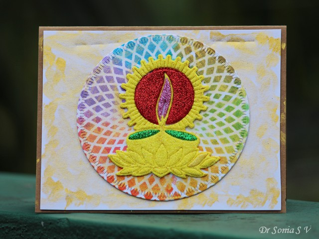 Cards Crafts Kids Projects Quick And Easy Diwali Card