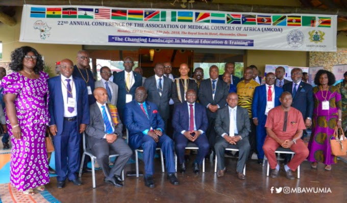 Critical Thinking Needed To Meet Health Needs Of Africa's Rapid Population Growth – VP Bawumia