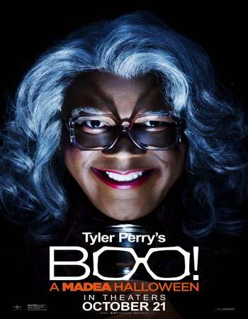 Poster Of Boo! A Madea Halloween 2016 English 700MB HDCAM x264 Free Download Watch Online downloadhub.net