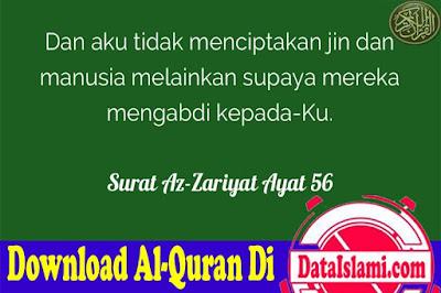 Tilawah Surat Az Zariyat Mp3 Suara Merdu