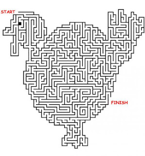 Printable Thanksgiving Mazes