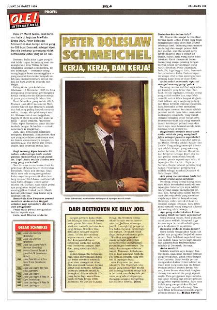 PETER BOLESLAW SCHMEICHEL PROFILE