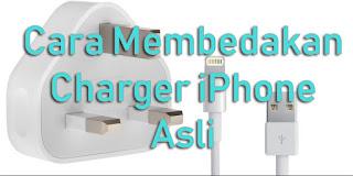 Wajib Simak!!! Cara Membedakan Charger iPhone Asli Dan Palsu