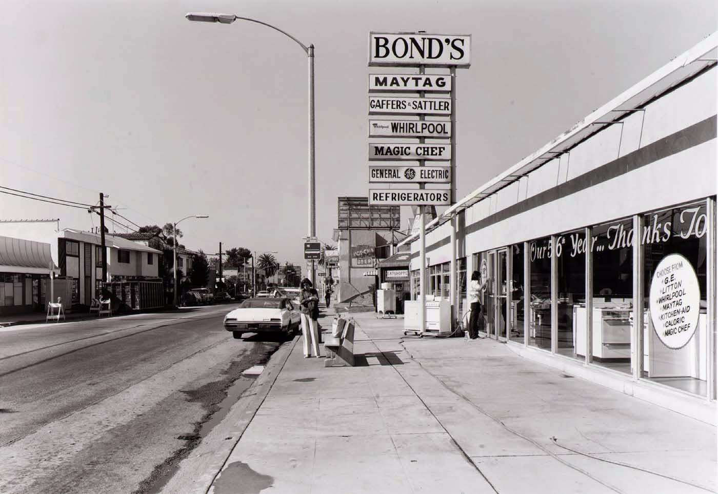 Black And White Photos Of Los Angeles Public Transit Areas