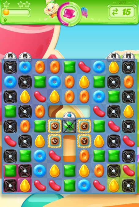 Candy Crush Jelly Saga 211