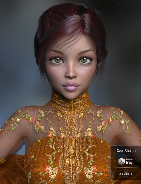 Katerina and Little Katerina for Genesis 3 and 8 Female