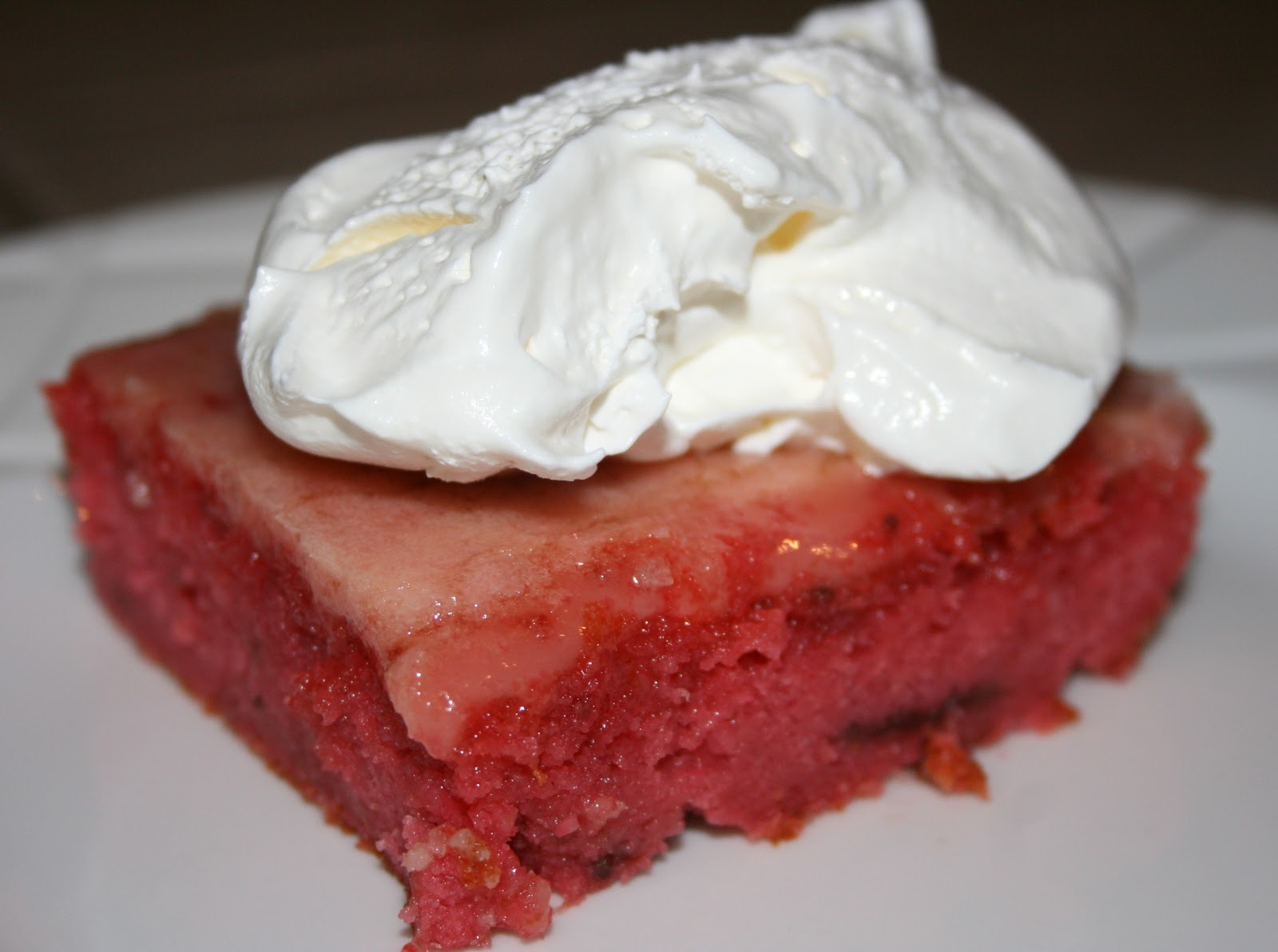 Strawberry Jello Cake Recipe Frozen Strawberries