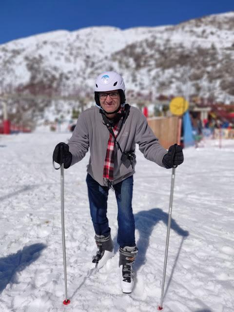 גלישת סקי בחרמון