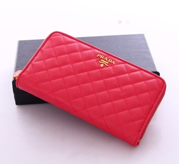 aa0cef8084f5 ブランド財布 プラダ 財布 Prada wallet 1M0506 embossed leather 2color red black