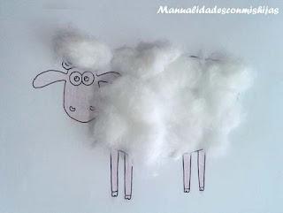 molde-oveja-pegar-algodon-shaun