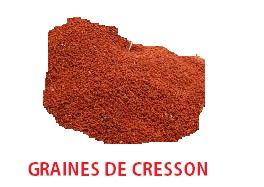Graines de Cresson pour activer le désir sexuel.