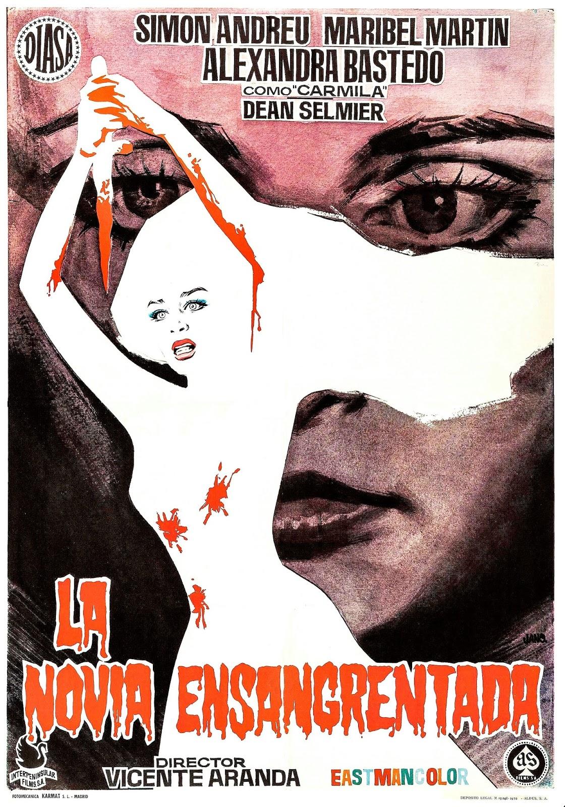 Cinefília Sant Miquel La Novia Ensangrentada 1972