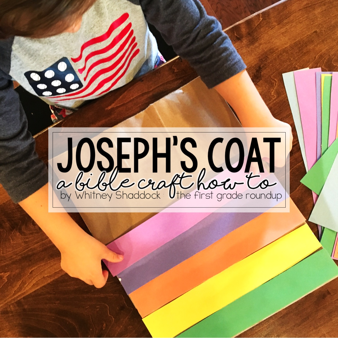 Joseph S Colorful Coat Craft