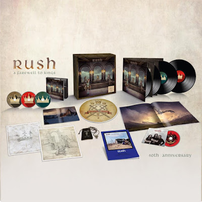 """Resultado de imagem para Rush anuncia edição de 40 anos de """"A Farewell to Kings"""""""