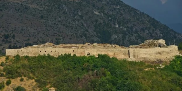 Prizren Fortress - city of ILION - one of 8 cities of Troy