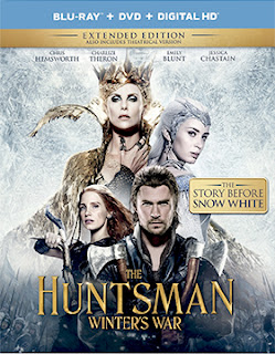 DVD & Blu-ray Release Report, The Huntsman: Winter's War, Ralph Tribbey