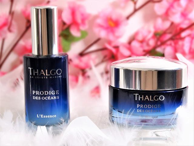 avis Gamme Prodige des Océans de Thalgo :  masque, essence, blog beauté, blog parfum, blog bougie