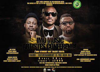 Mr Uriel Of Grey Lines Company And The Office Of SSA On Entertainment and Public Affairs To Governor of Imo State Organize First Ever Imo Artiste Conference 1