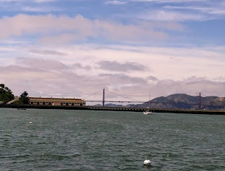 Golden Gate Bridge from Pier 39 view Photograph